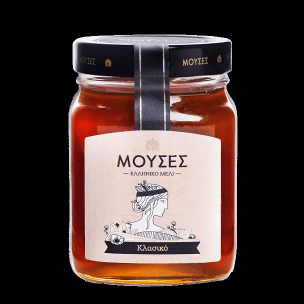 Γνήσιο ελληνικό Μέλι Μούσες σε συσκευασία 720γρ